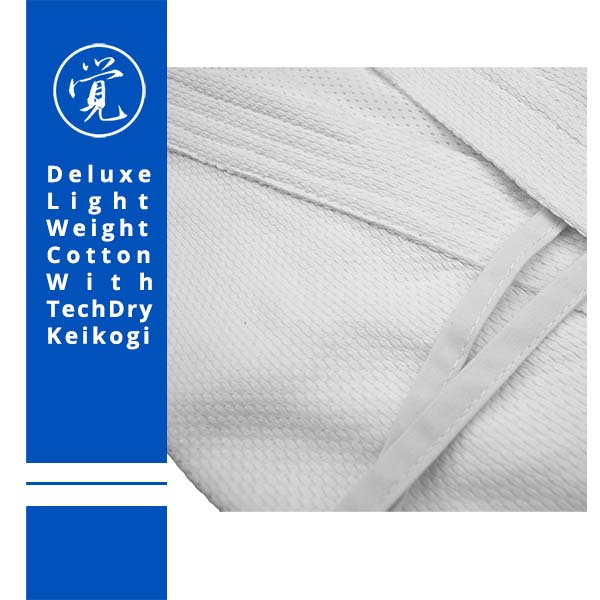 Weight Lifting Equipment In Honolulu: Light Weight Cotton Keikogi With TechDry Lining