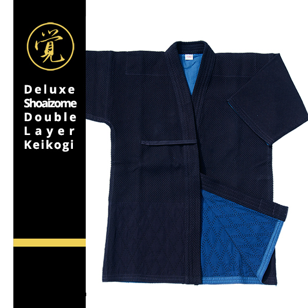 Fine quality Shoaizome Double Layer Keikogi