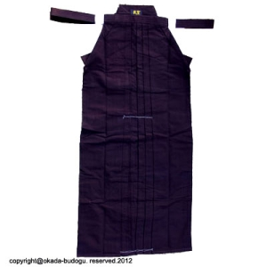 High quality #11000 Indigo Dyed blue Hakama