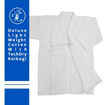 Light Weight Cotton Keikogi with TechDry Lining