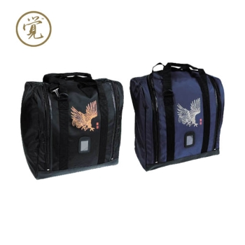 THE HAWK Cubic type Boston Bag